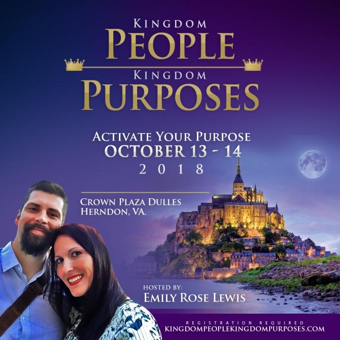 Kingdom People. Kingdom Purposes. A Royal Affair. Conference 2018